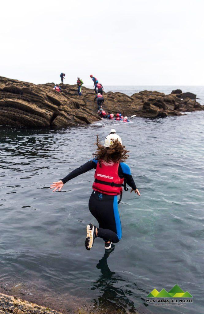 coasteering montanasdelnorte