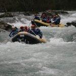 viajes estudios rafting