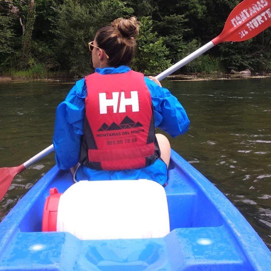 Hacer el Sella en canoa... una actividad apasionante.