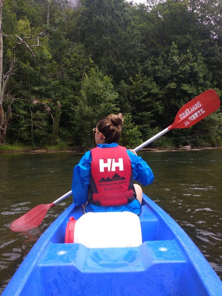 El Sella en canoa